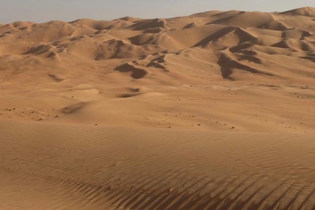 Wüste bei Mezira'a