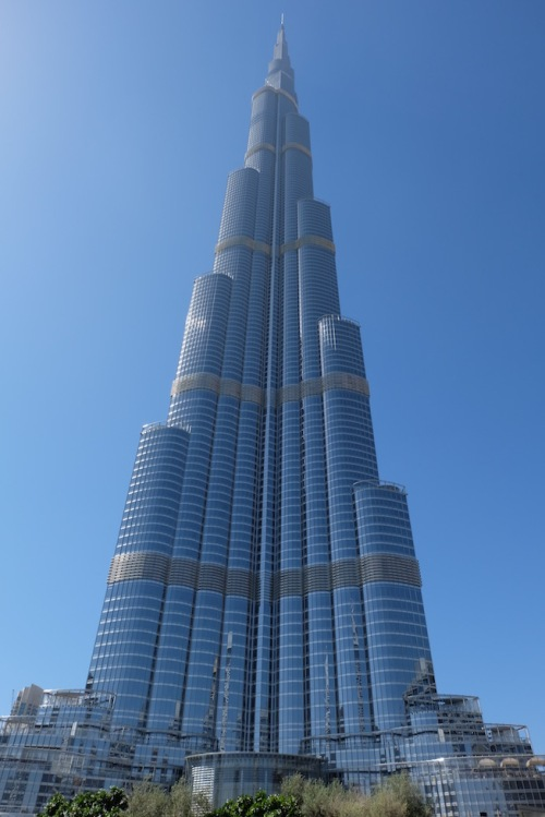 Burj Khalifa, 828 m hoch