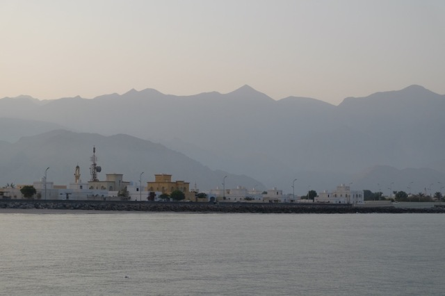 Blick zum Oman