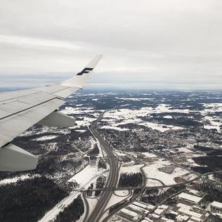 7:56 Uhr (MEZ +1) Start Helsinki